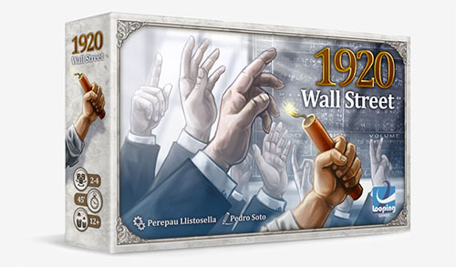 1920 Wall Street Card Game