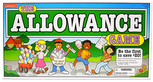 Allowance Finance Money Game