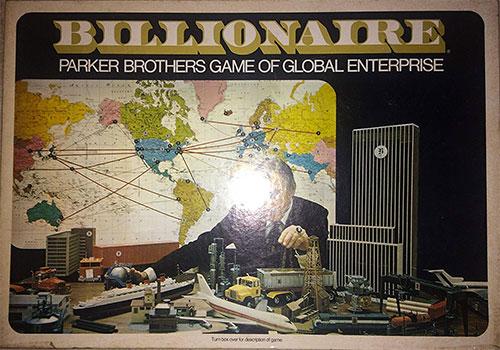 Billionaire Money Board Game