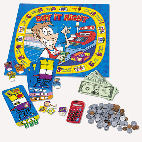 Buy it Right Money Board Game