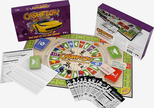 Cashflow Board Game Finance