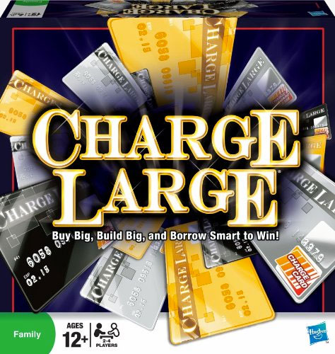 Charge Large Money Board Game