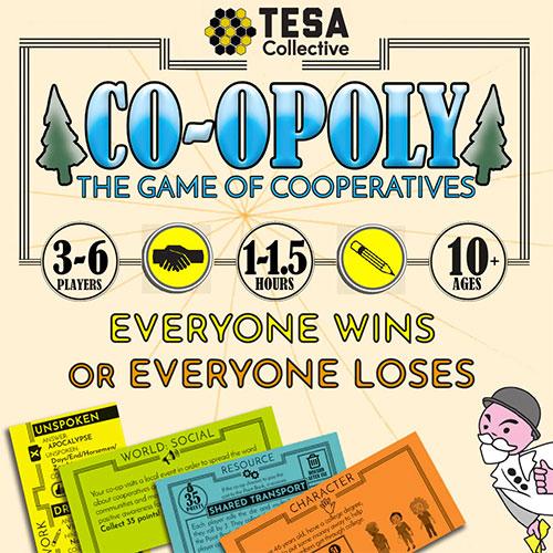 Co-Opoly Board Game Teamwork