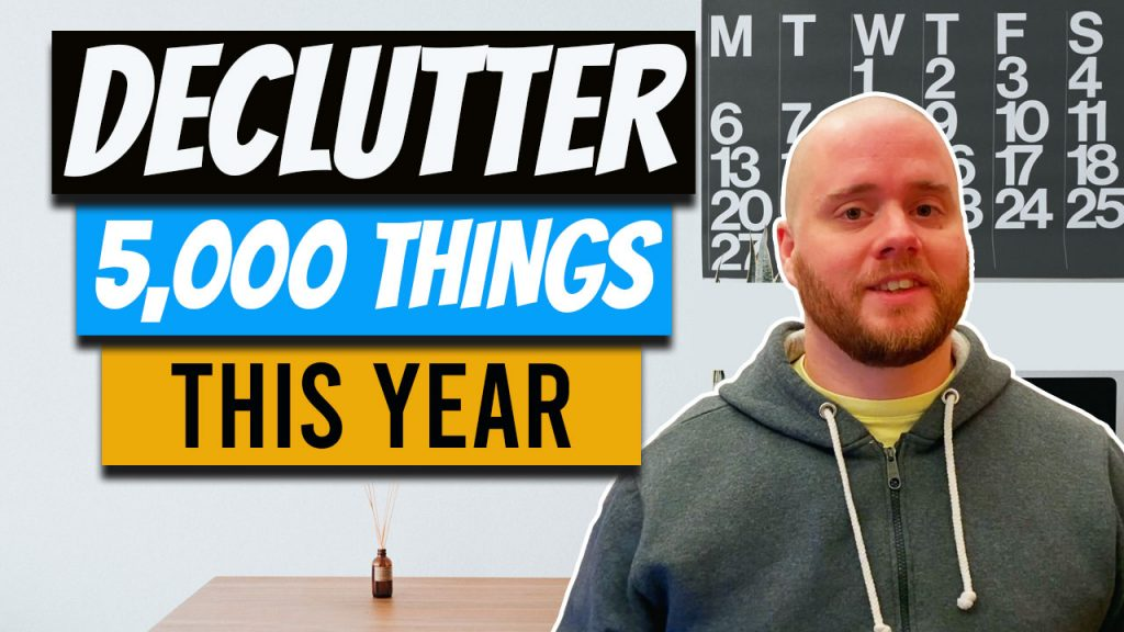 declutter 5000 things large family minimalism