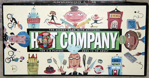 Hot Company Board Game