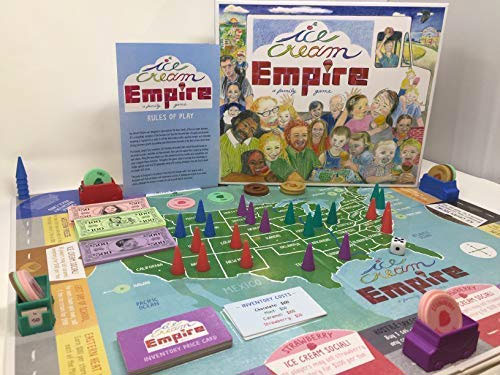 Ice Cream Empire Business board game