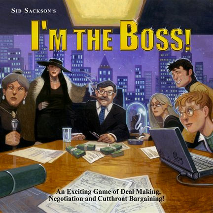 I'm the Boss Business Board Game