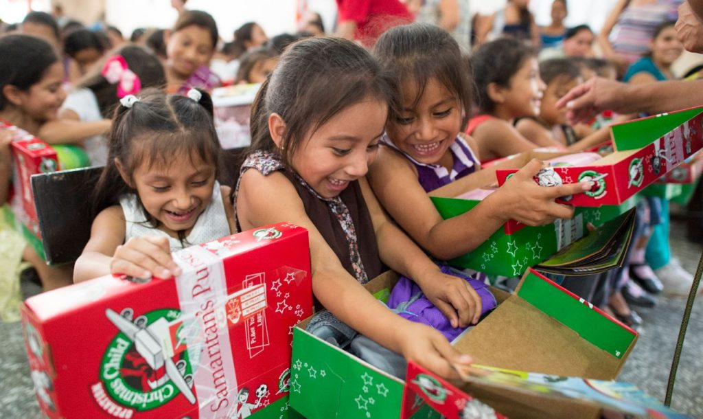Samaritan's Purse Christmas Presents