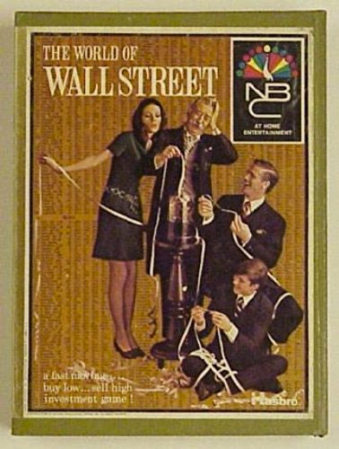 World of Wall Street Board Game