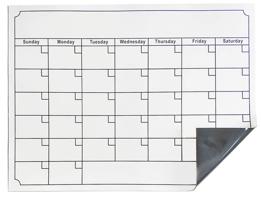 dry erase weekly family planner