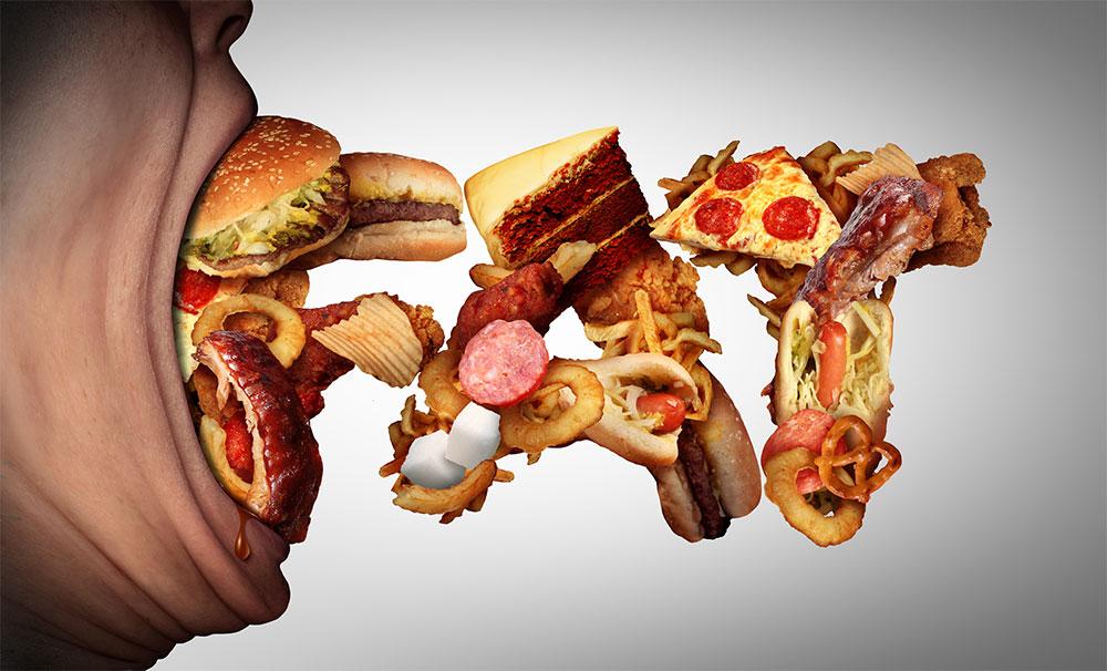quit junk food save money