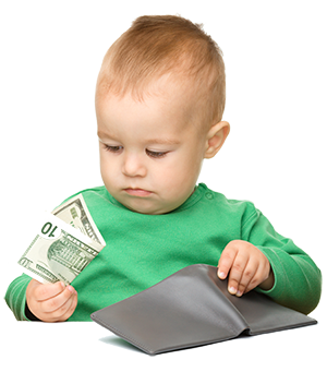 kid learn teach money