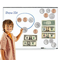 kids money magnet toy