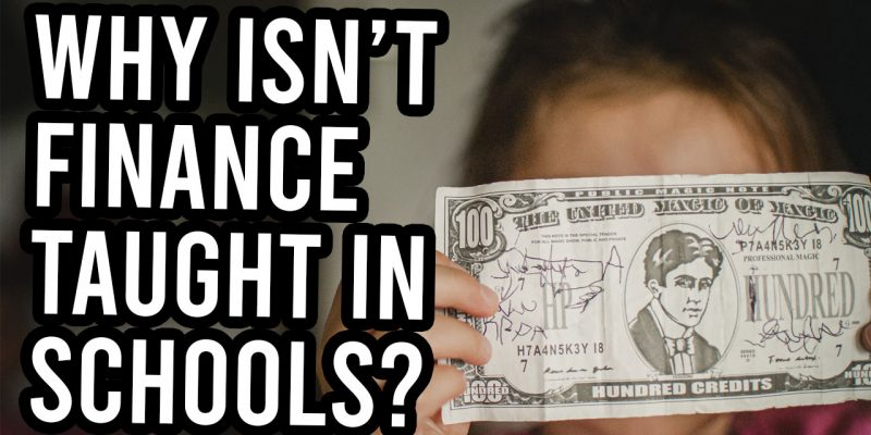 finance not taught schools