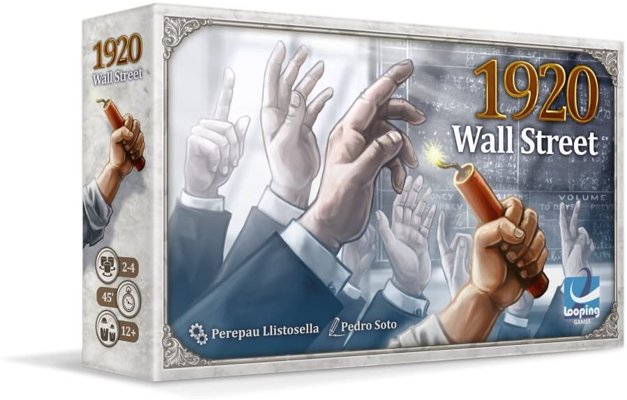 1920 Wall Street Card Game