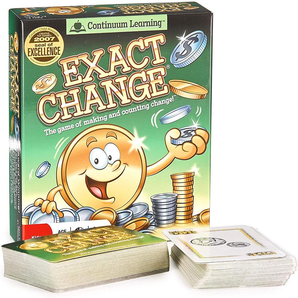 Exact Changes Teach Kids Math Games