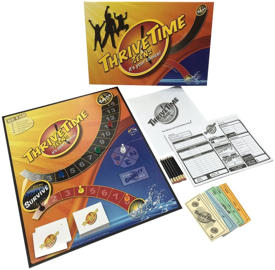 ThriveTime for Teens Financial Board Game