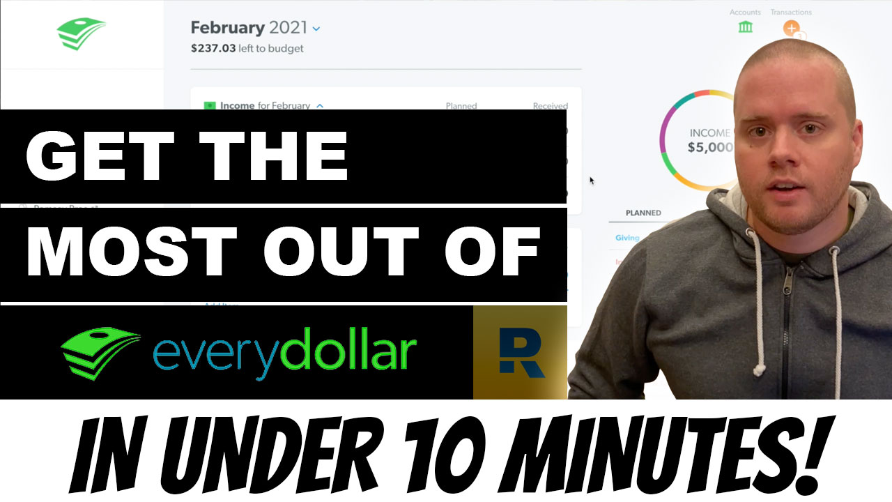 EveryDollar Tutorial: How to Get the Most Out of It