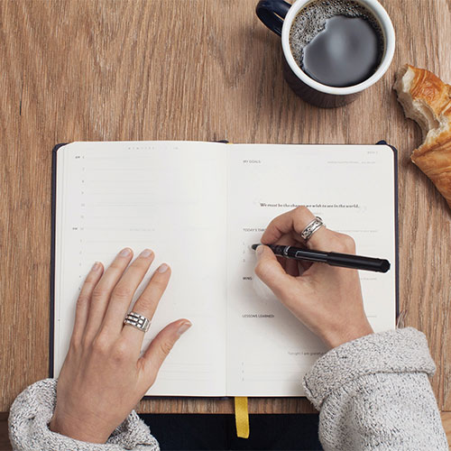 journaling to cure worry