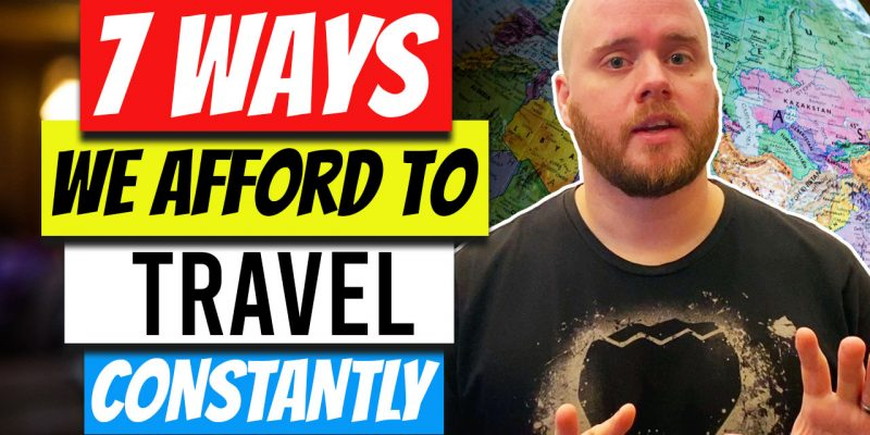 7 Ways Our Family of 7 Can Afford to Travel Constantly