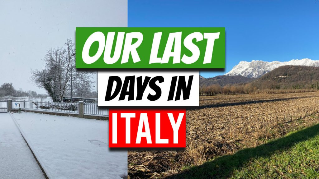Our last Days in Italy