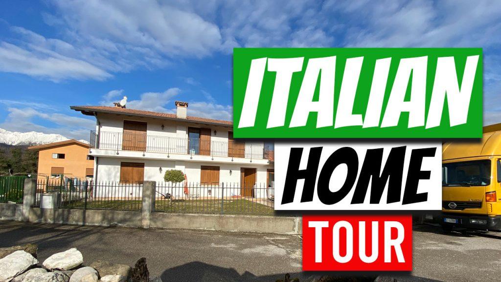 american italian home tour
